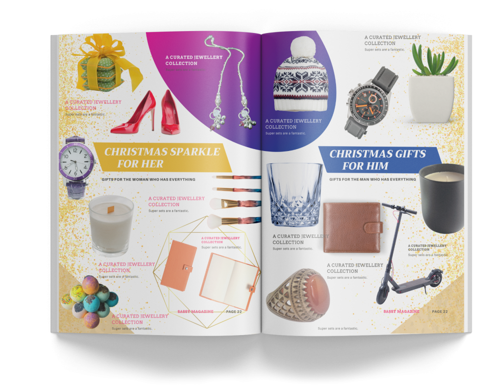 products featured in magazines