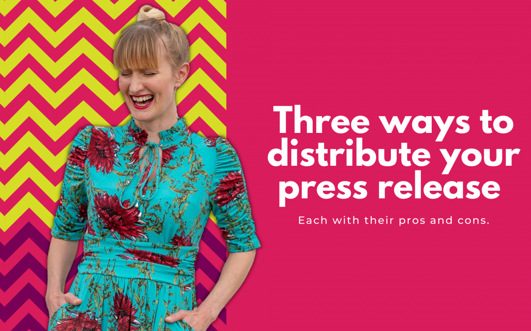 How to find journalists and distribute your press release
